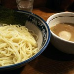 64996706 - つけ麺(大盛)¥800+味玉¥100
