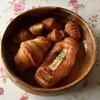 ラパン - 料理写真:ソーセージクロワッサン165円、デニッシュ160円、プチクロワッサン135円です。
