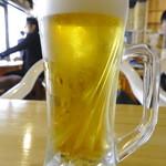 酒が呑める魚屋 大輝鮮魚店 - サッポロ黒ラベル(500円)