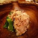 つるとんたん - ☆鶏肉と九条葱のお浸し(^v^)☆