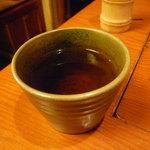 つるとんたん - ☆温かいお茶をゴクリ(^u^)☆