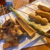 カツ酒処 - 料理写真:串揚げ
