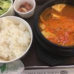 韓国料理 ミス コリア - スンドゥブチゲ定食