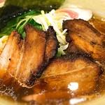 氷花餃子 - 叉焼麺