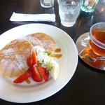 フラムカフェ - 料理写真:パンケーキモーニング