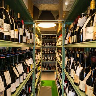 ワインショップでの新たなワインとの出合いも醍醐味