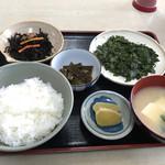 まるよし食堂 - 料理写真:はばのり定食
