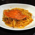 コモードキッチン - ワタリ蟹のトマトクリームソース 生パスタ(1380円)