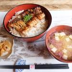 米沢鯉 六十里 - 鯉丼 単品