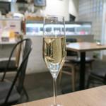 モード カフェ ギャマン - コースのスパークリング