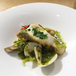 モード カフェ ギャマン - 真鯛と新筍のロースト