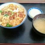 満腹食堂 - カツ丼  750円