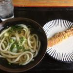 はすい亭 - 料理写真:かけうどん(*゚∀゚*)180円