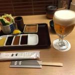 新宿 立吉 - 生ビール