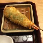 新宿 立吉 - 海老のシソ巻き