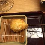 新宿 立吉 - 鰆のナス巻き