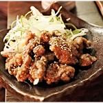 馬の串ん - 馬肉の竜田揚げ 420円 歯ごたえがイイ感じです。