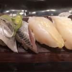 廻転寿司 CHOJIRO - いわし、つぶ貝