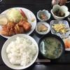 倉 - 料理写真:鶏のから揚げ定食 ¥750