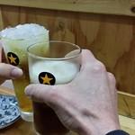 65033883 - ホッピーと緑茶ハイで…乾杯♪