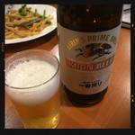 中華料理居酒屋 天府 - 瓶ビール 550円