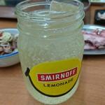 ほるもんブル。 - スミノフ&牛すじポン酢&ハラミ