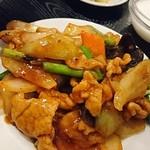 中国飯店 福來門 - 豚肉のピリ辛炒め