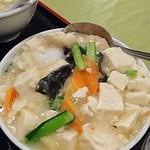 中国飯店 福來門 - 海鮮と豆腐の塩うま煮