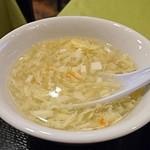中国飯店 福來門 - スープ