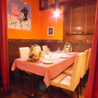 限定1組様★4~6名様向けのテーブル個室。女子会や各種宴会に