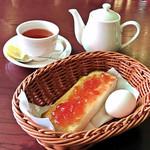 喫茶 神戸館 - モーニングサービス(アールグレイ)