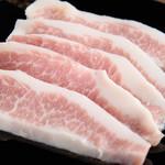 米沢ポークの豚バラ