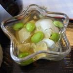 わがまんま家 鷹 - 蜂蜜と出汁で味付けした豆腐料理