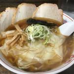 65039075 - ワンタンチャーシュー麺
