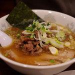 麺僧 - 牛すじラーメン(醤油)
