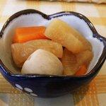レストラン 四季 - 生姜焼き定食の小鉢