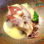 桃花庵 - ホタルイカ、酢味噌和え