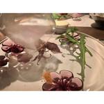 フレンチ割烹 宿 - ホタルイカの燻製