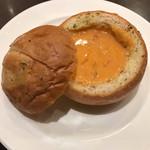 65041366 - お得なリッチセットのズワイ蟹のクリームパンシチュー