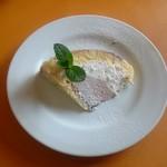 タベルナ イル ロカーレ - ズコット チョコとヘーゼルナッツ2種のクリームたっぷりケーキ