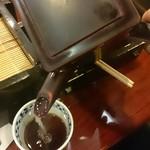 心洗庵 - 蕎麦湯