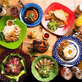 タイ、ベトナム、中国などのアジア各国の料理をリーズナブルに!
