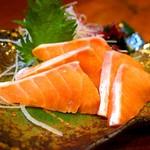郷土料理 武田 - 【船上一本〆鮭のルイベ】
