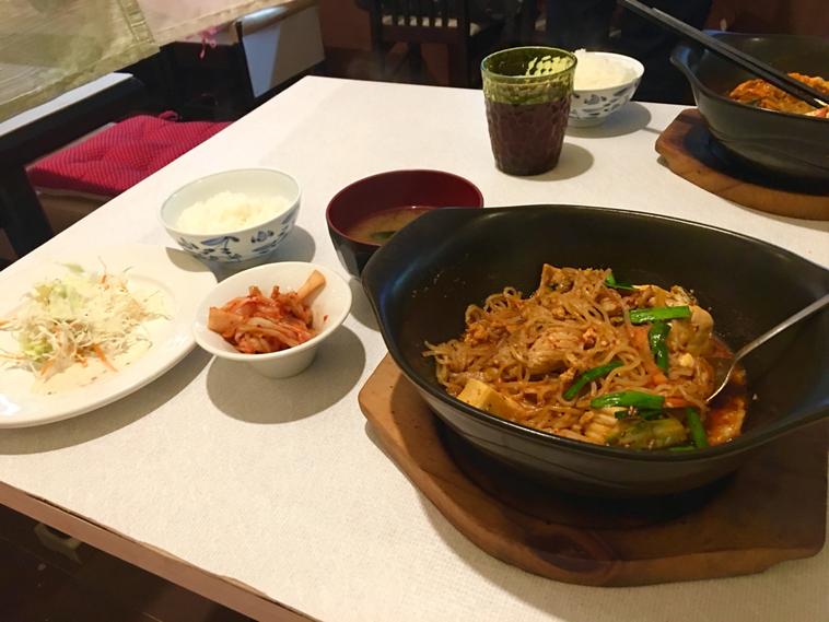 韓国料理 味家