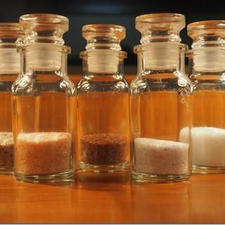 素材の味を引き出すのは、『塩』!