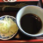 長岡屋 - つゆと薬味