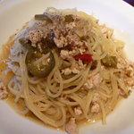 Restaurant Wokini - 鶏挽肉とハラペーニョ