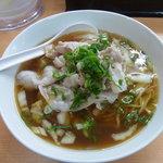 和・陽春 まつ井 - 豚肉陽春麺