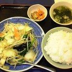 チャイニーズキッチン味彩 - 野菜炒め定食