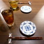China hata 36 - 烏龍茶、ジャスミン茶